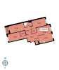 Планировка четырехкомнатной+ квартиры